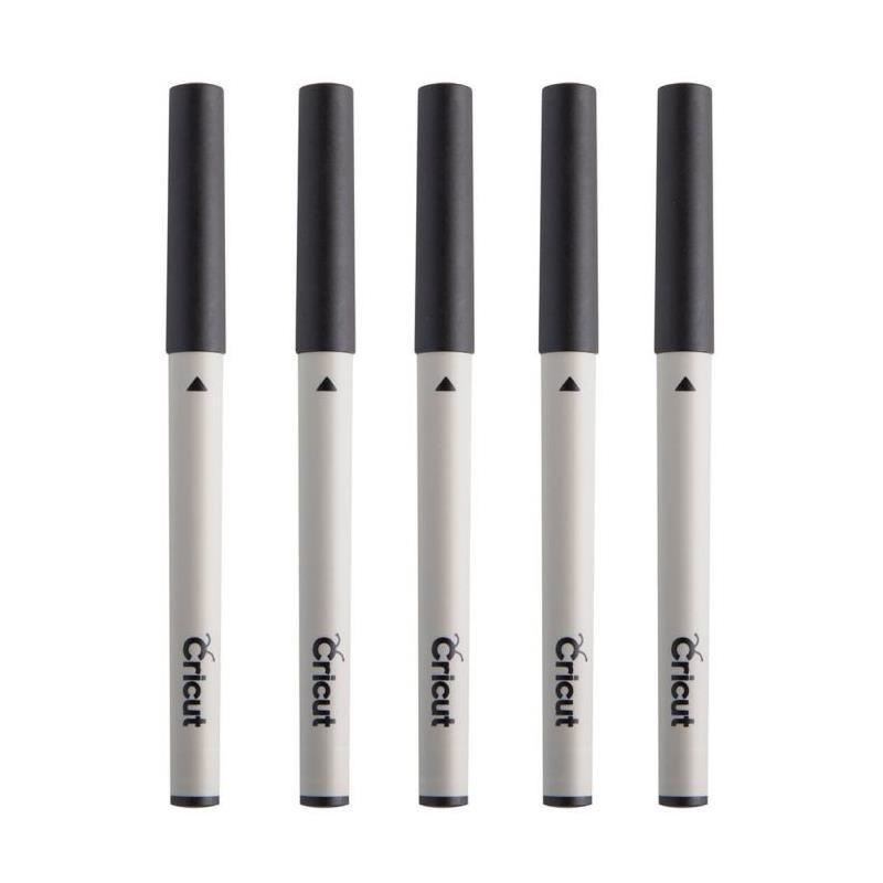 Set bolígrafos negro varios grosores