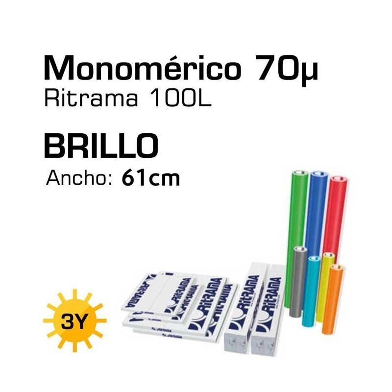 Vinilo Ritrama 100L Brillo Am. Primrose 110 0,61x1
