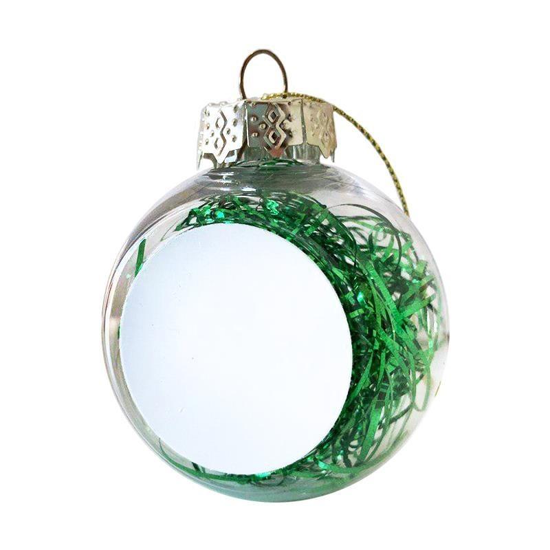 Bola navidad verde sublimación