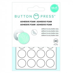 Button Press Foam adhesivo