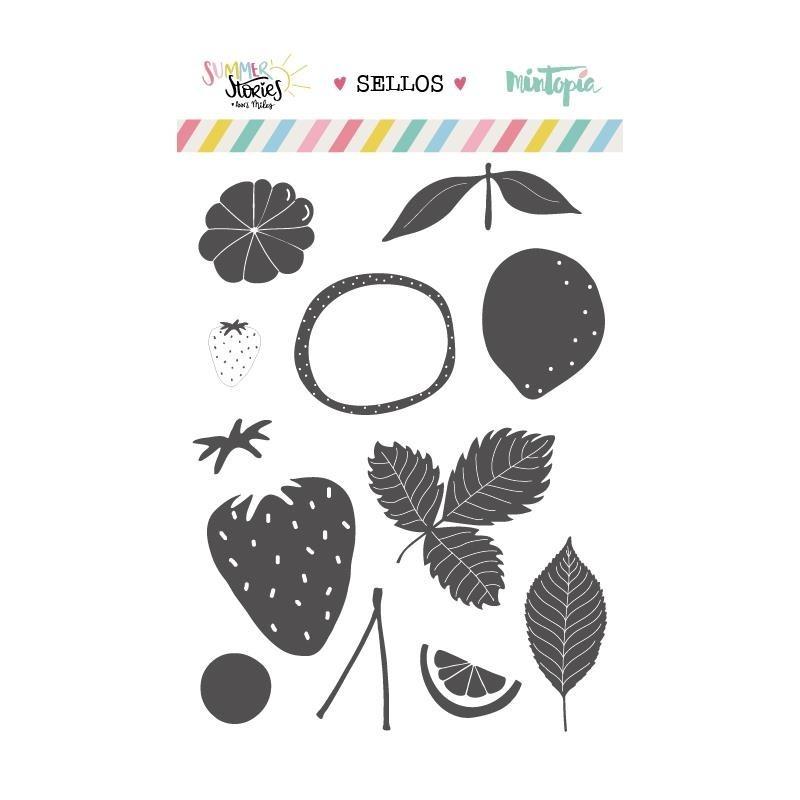 Sello Frutas Summer Stories
