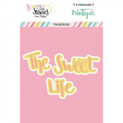 Troquel The Sweet Life doble capa Summer Stories