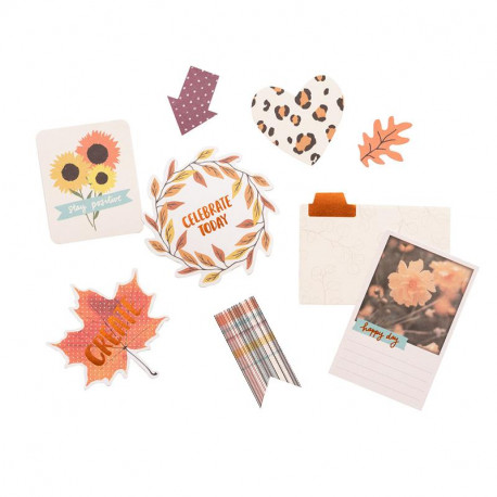 Die Cuts Late Afternoon Amy Tangerine