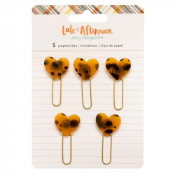 Clips decorativos Late Afternoon Amy Tangerine