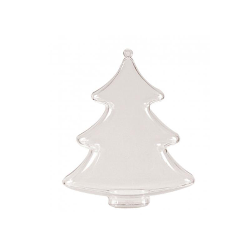 Colgante plástico Árbol de Navidad 10cm